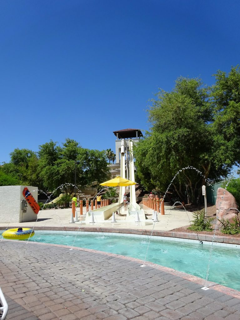 Arizona Grand Resort Review Plus Tips To Get More Bang For Your Buck - Blossoming Widow : Eight story waterslide
