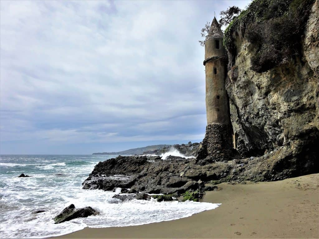 Solo Travel : Finding Victoria Beach Tower In Laguna Beach, California : A hidden beach tucked away in a small neighborhood. If you can find it you'll be enchanted by its ancient pool and Rapunzel Tower.