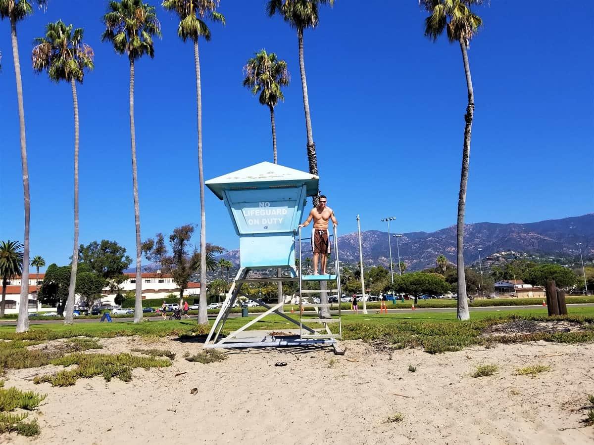 West Beach lifeguard shack
