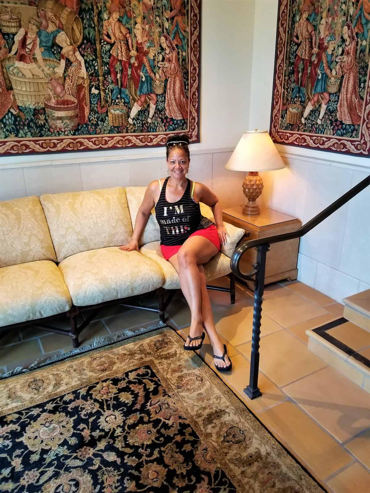 Santa Barbara Inn Foyer