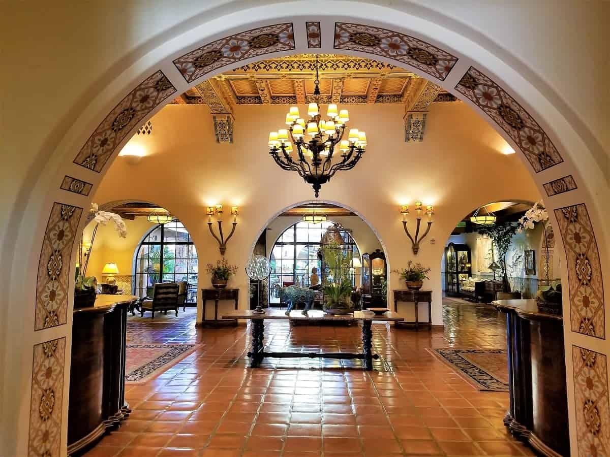 Biltmore Four Seasons Resort entrance