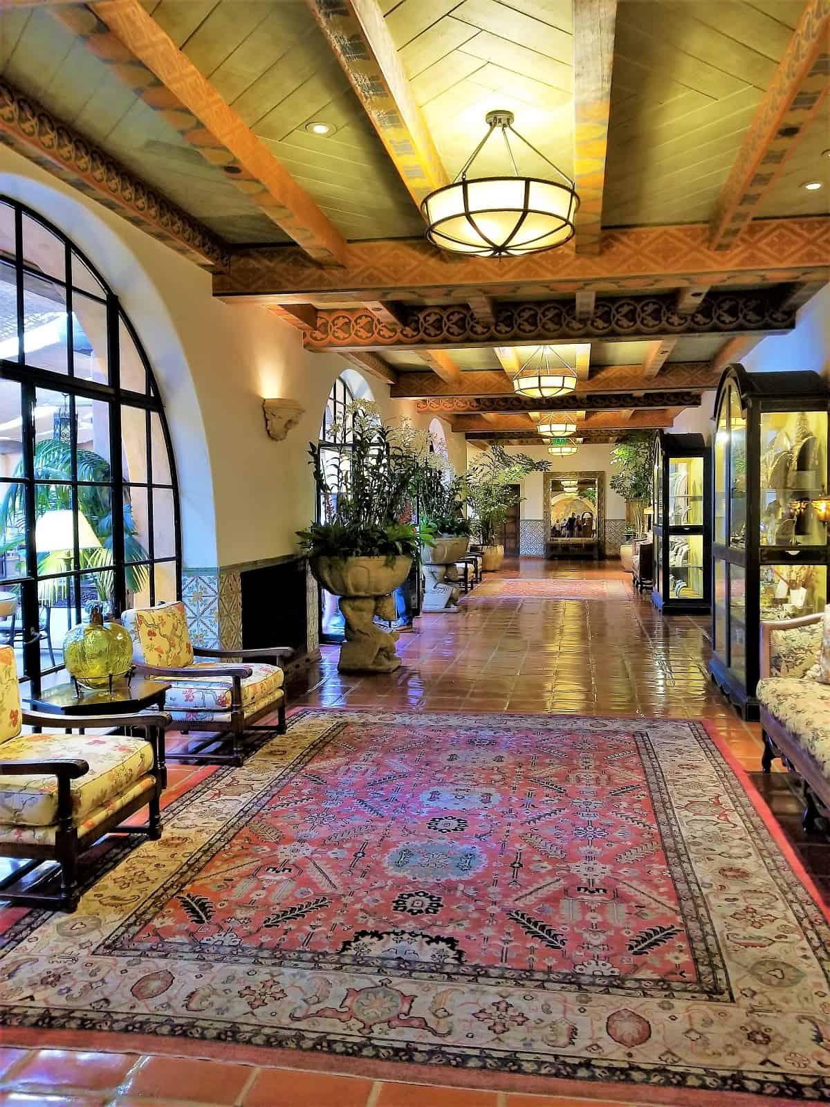 Biltmore Four Seasons Resort hallway