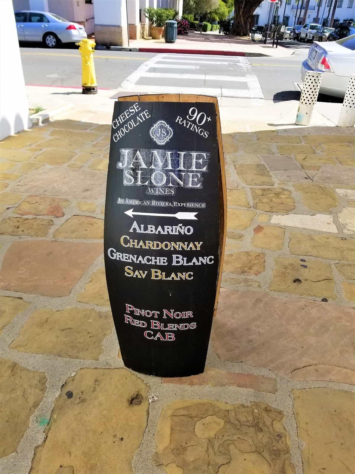 Bottle of Lozier at Jamie Sloan Wine