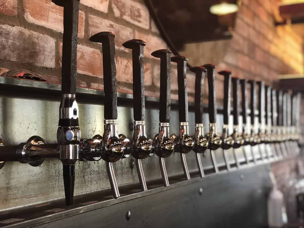 Copper Brothel Brewery on tap