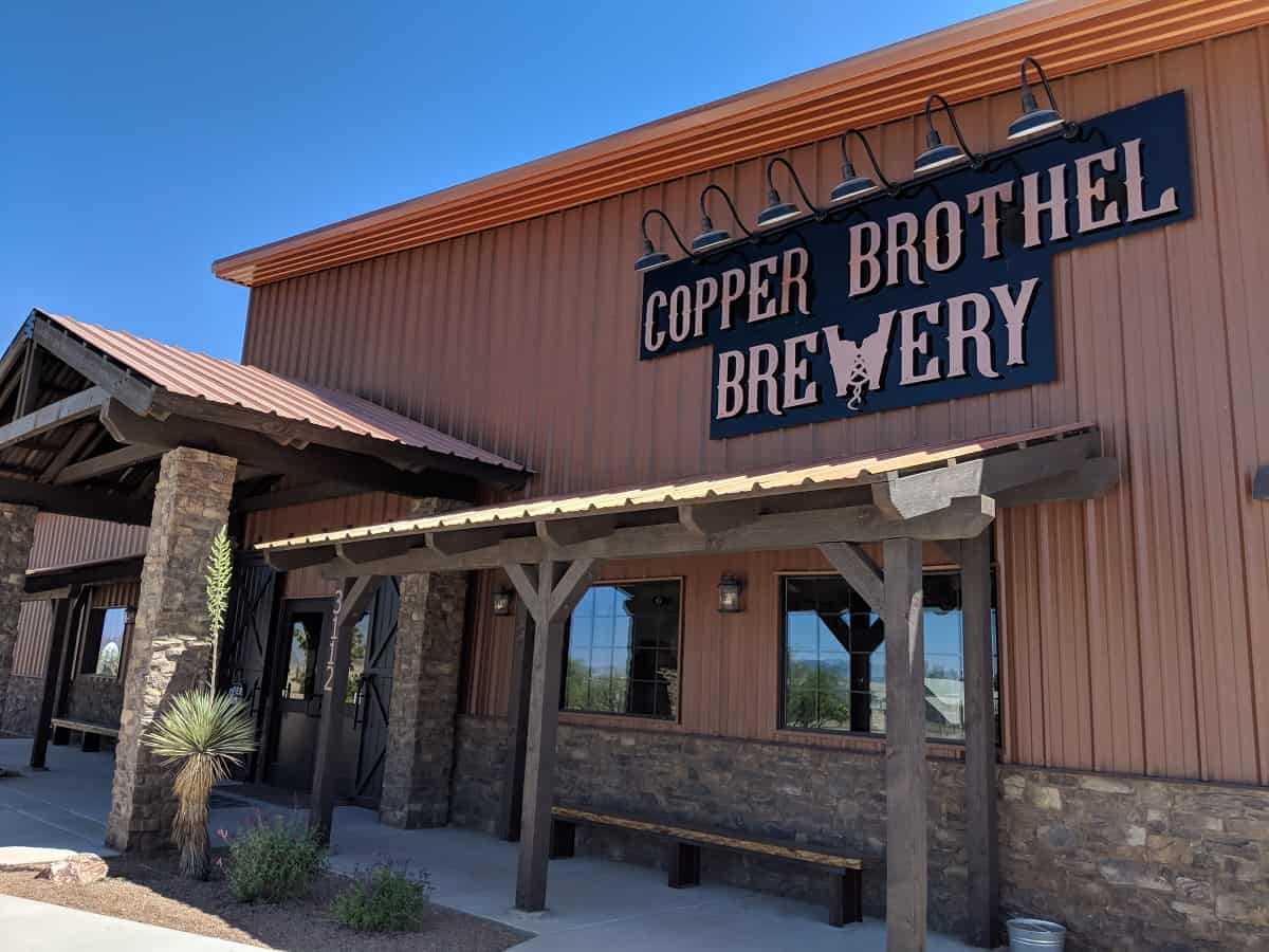 Front of Copper Brothel Brewery