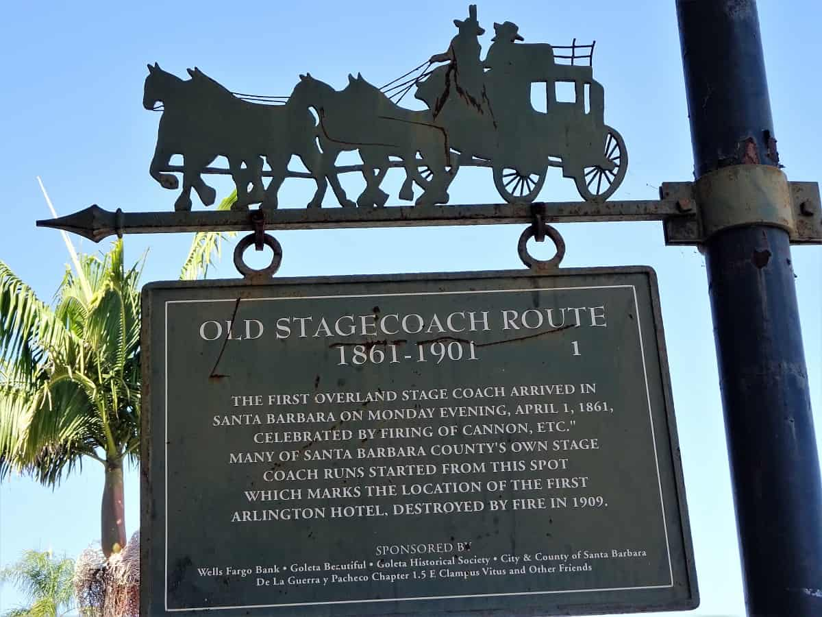 Old Stage Coach sign