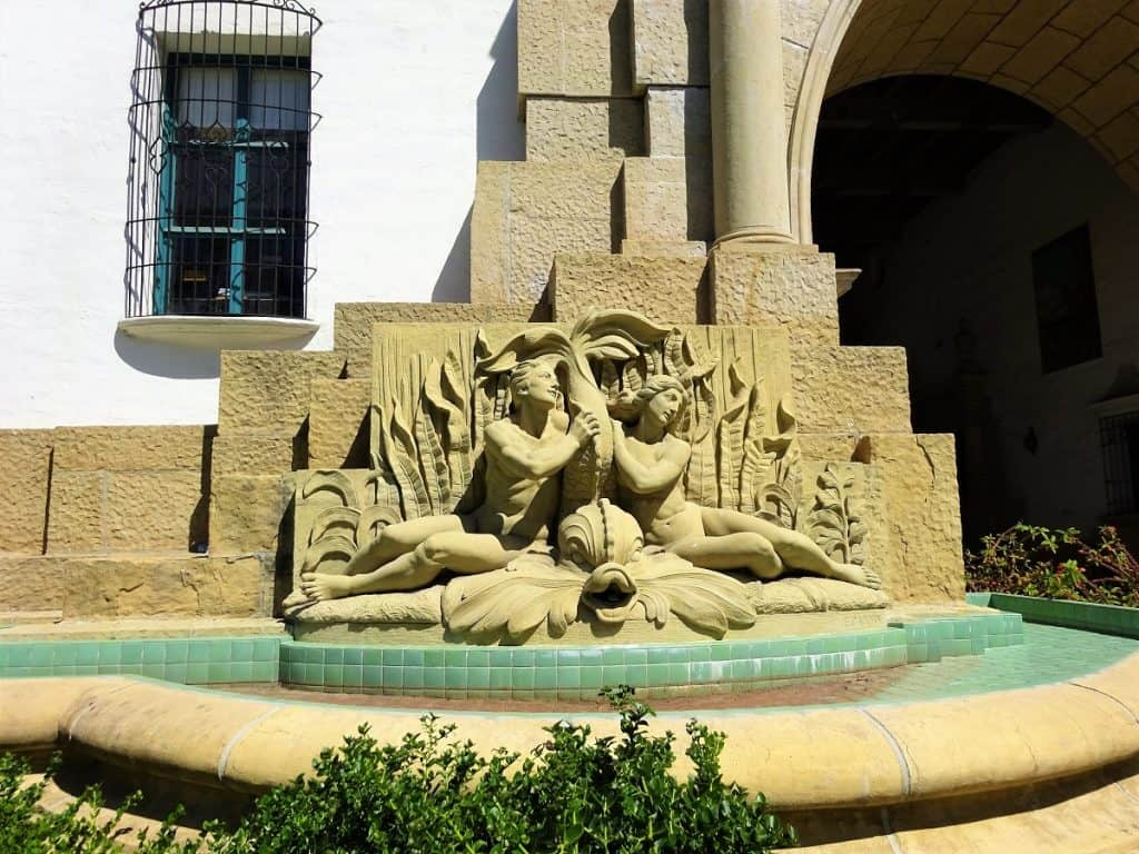 Santa Barbara Courthouse sculpture