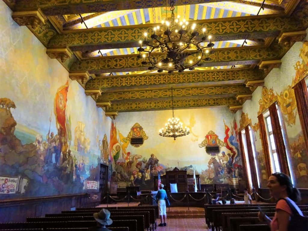 Church Inside Santa Barbara Courthouse