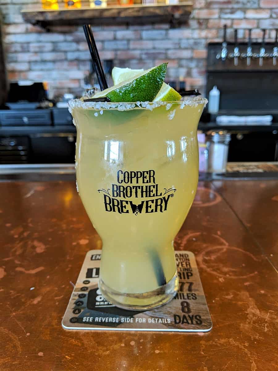 Copper Brothel Brewery Penthouse Margarita