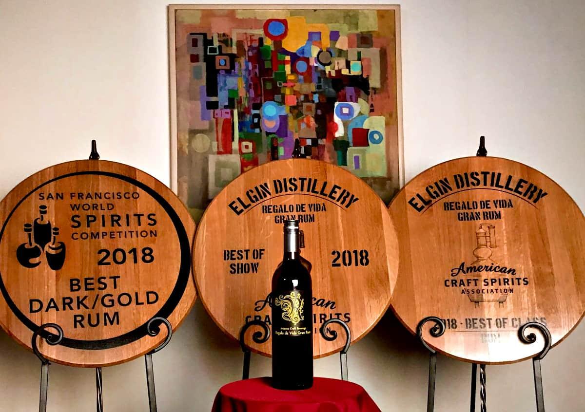 Elgin Distillery Awards