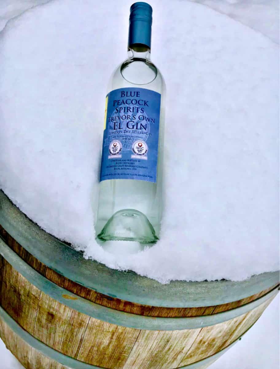 Bottle of Elgin Gin