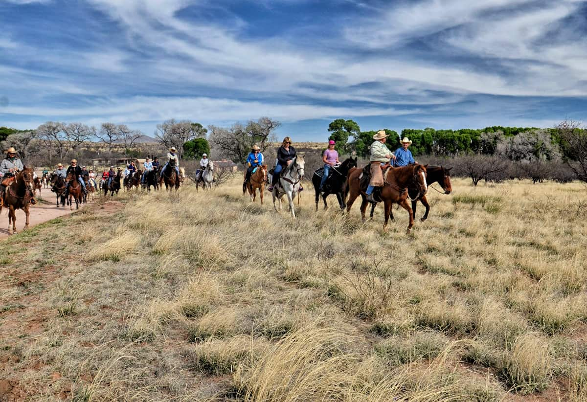 Empire Ranch Spring Trail Ride
