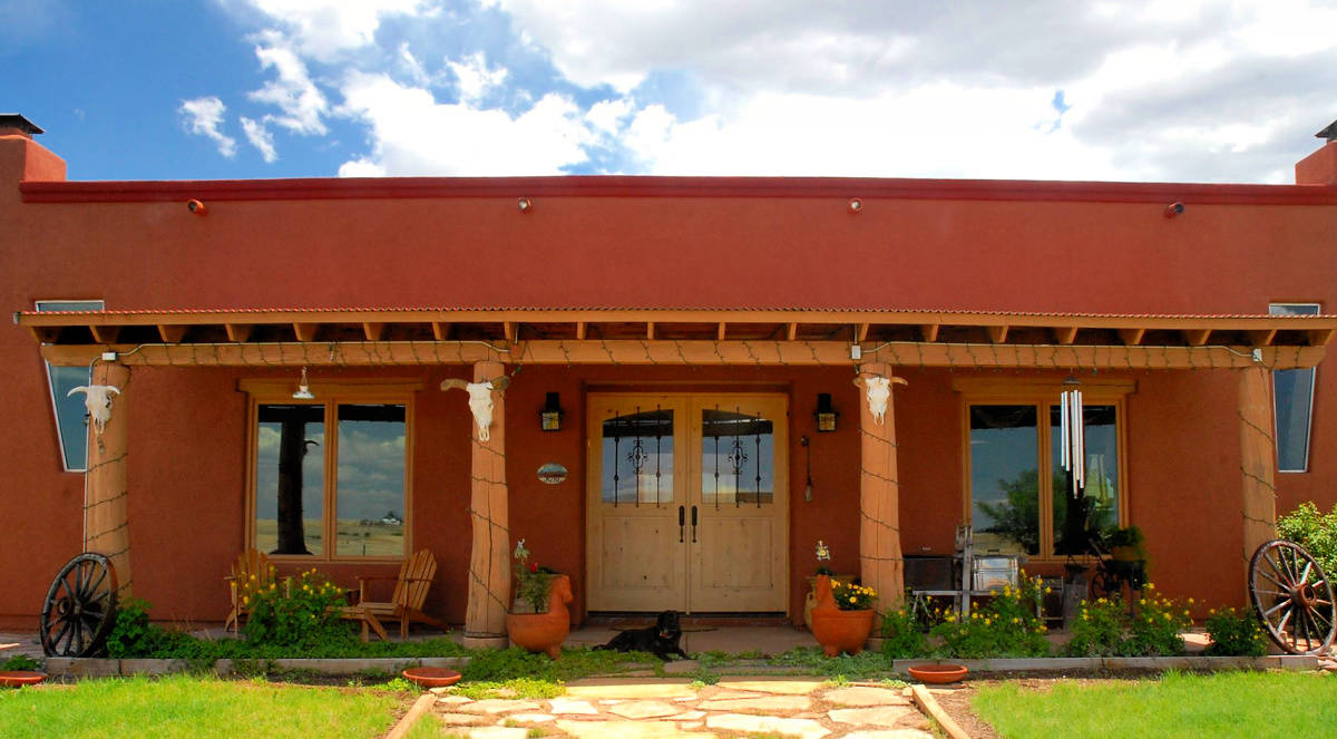 La Hacienda de Sonoita entrance