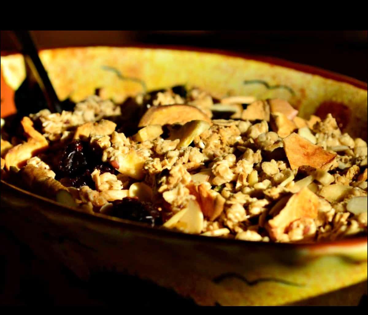 La Hacienda de Sonoita homemade granola