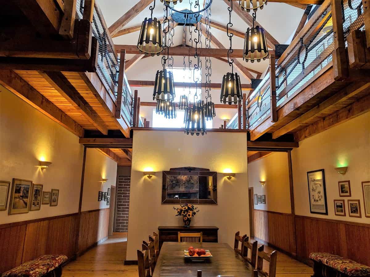 Sonoita Inn Dining area