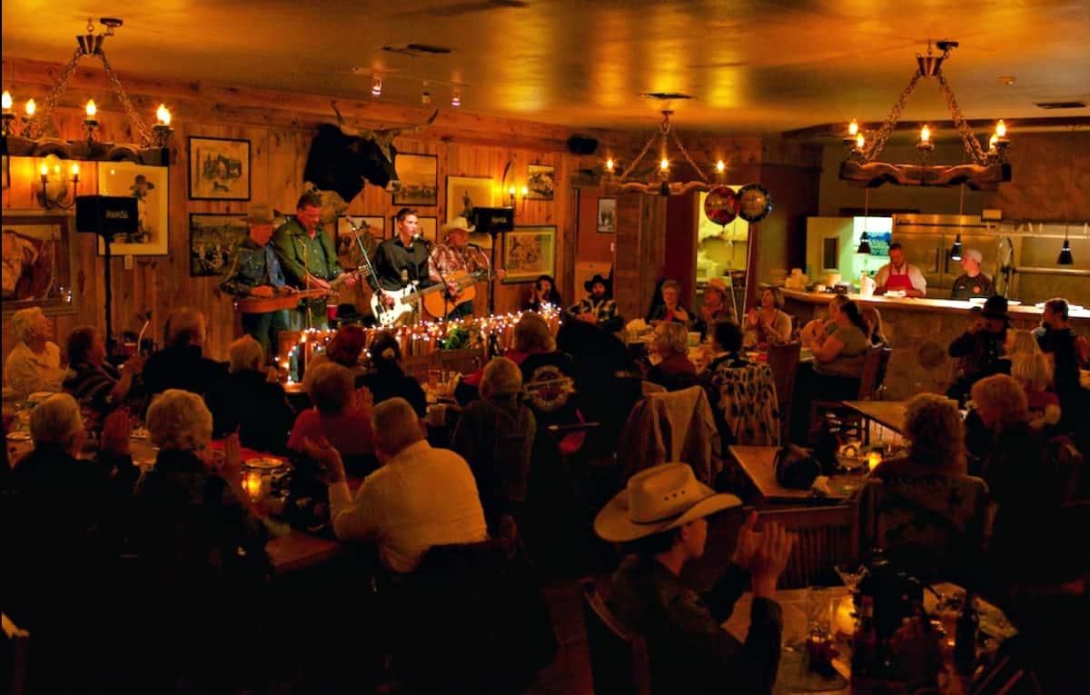 Steak Out Restaurant & Saloon interior