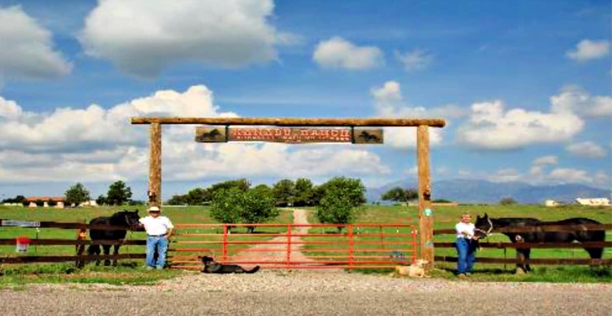Entrance to Xanadu Ranch GetAway