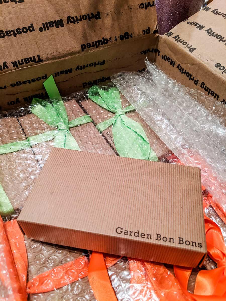 Garden bonbon in a box