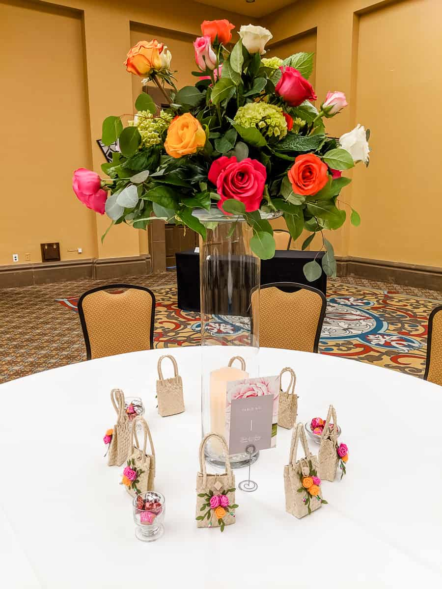 Tall wedding flower arrangements centerpieces