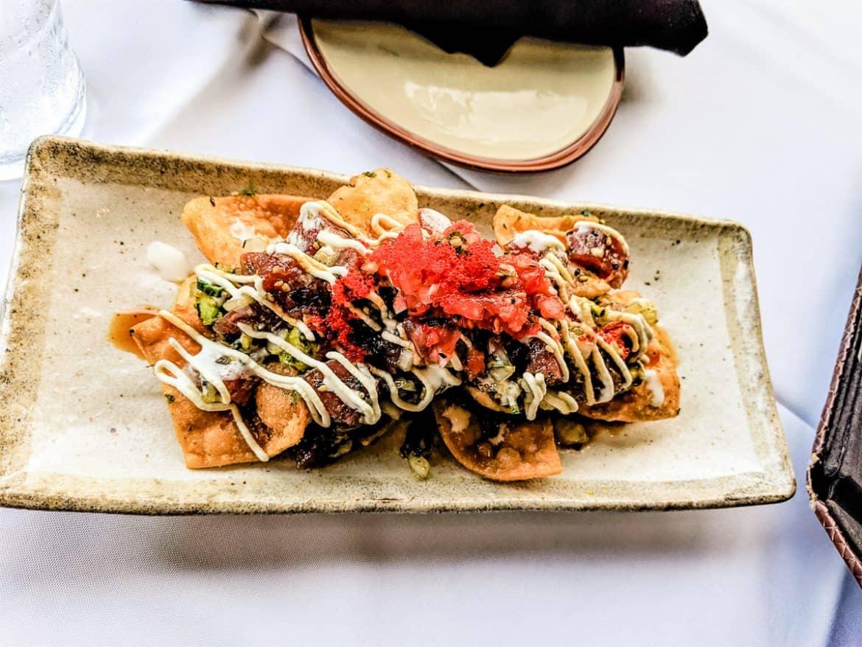Hukilau Lanai Restaurant Aji Nachos