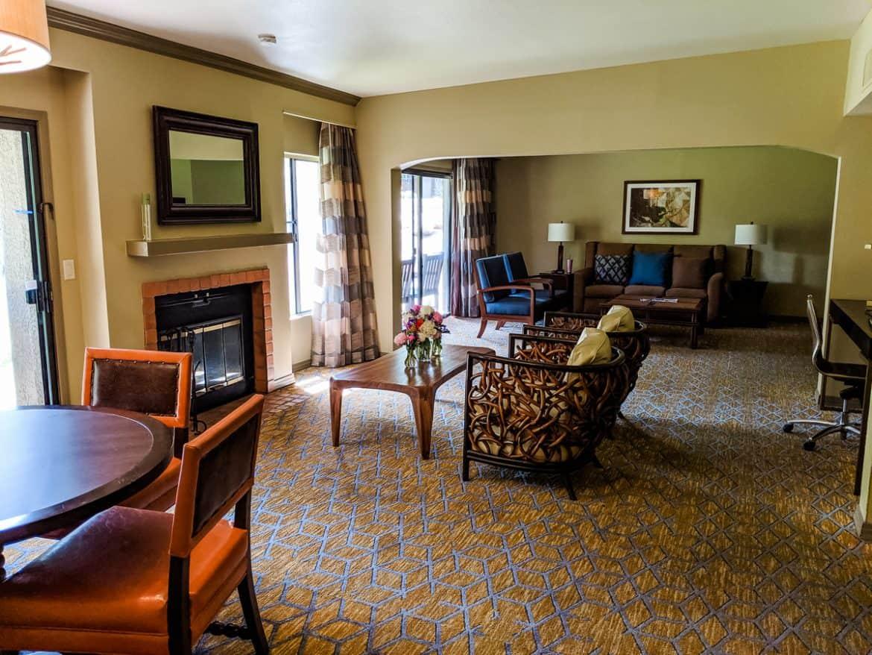 Interior of Tucson Hilton El Conquistador Resort Bridal Suite