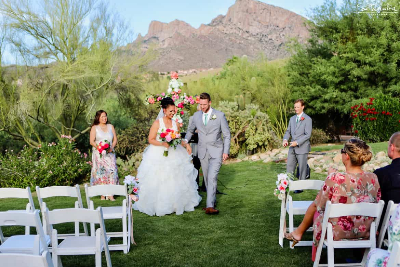 Bride and Groom Sunset point at Hilton El Conquistador, Tucson