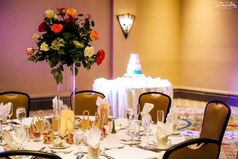 Tall wedding reception centerpieces ideas