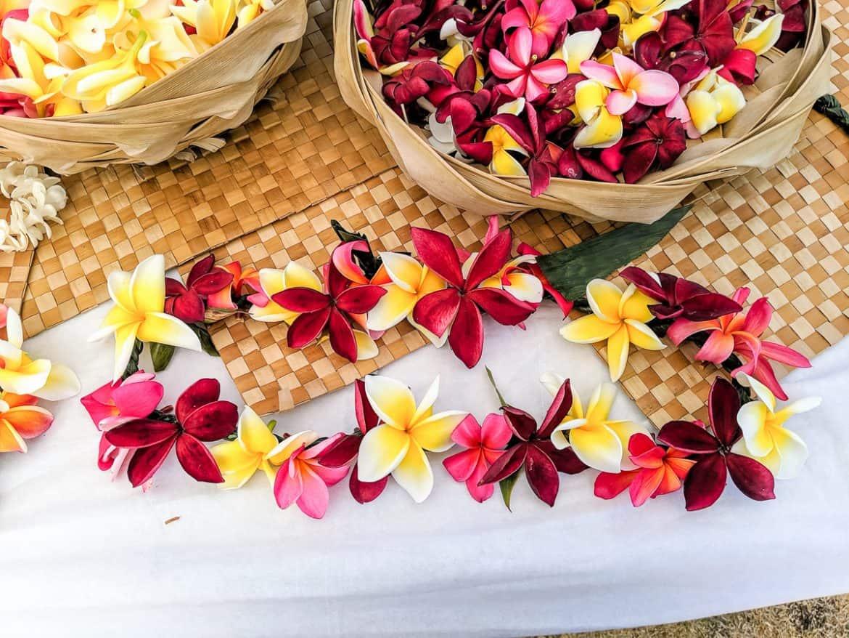 Plumeria Lei flowers