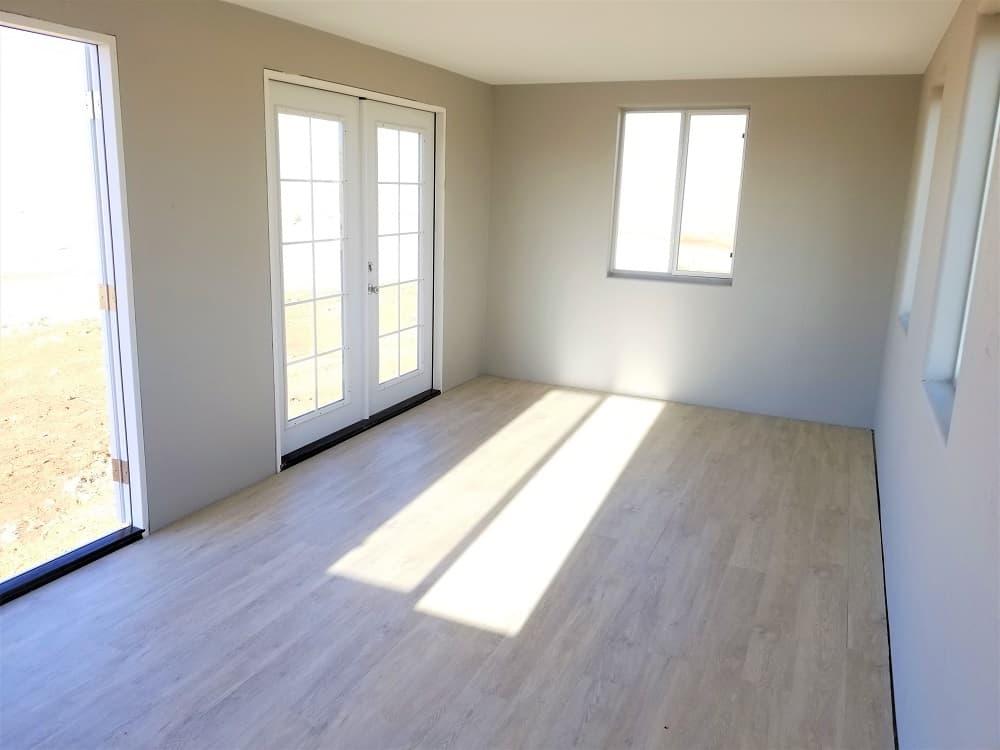 Finished flooring