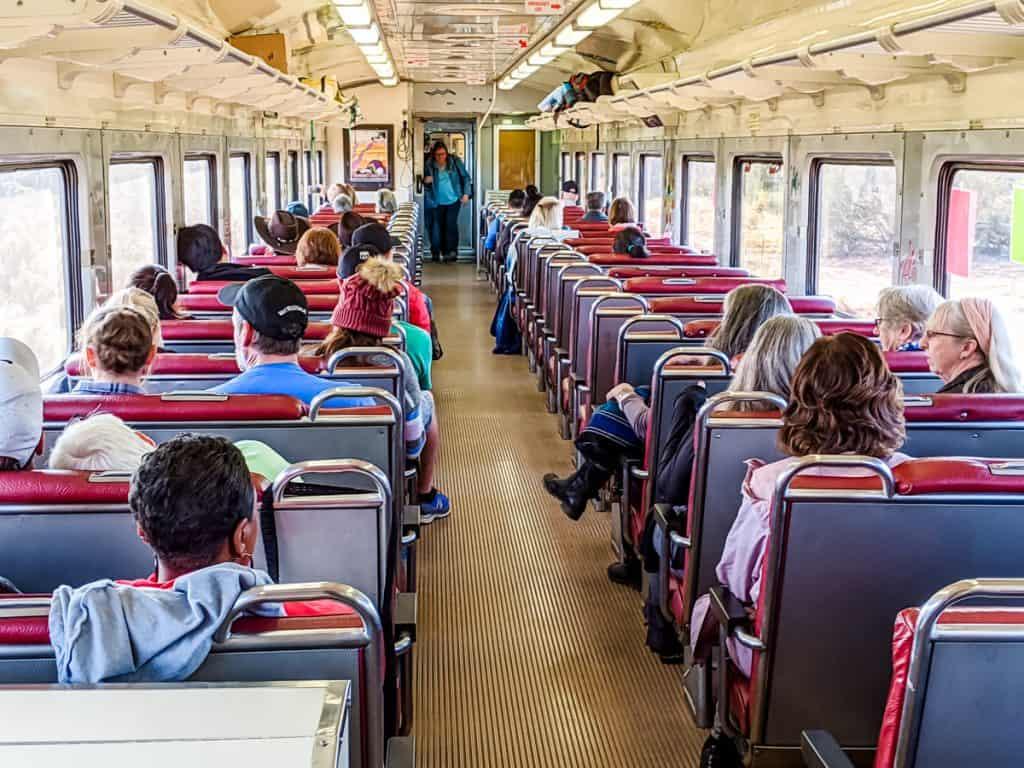 Grand Canyon Railway Coach Class car